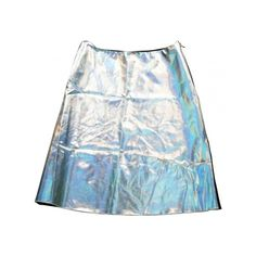 Pre-owned JONATHAN SAUNDERS Silver Skirt (15.385 RUB) ❤ liked on Polyvore featuring skirts, bottoms, jonathan saunders, jonathan saunders skirt, silver skirt and blue skirt