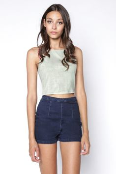 90s Lullaby - BARELY THERE MINT CROPPED CAMI, $8.99 (http://www.90slullaby.com/shop/essentials/barely-there-mint-cropped-cami/)