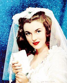 Marilyn's wedding photo