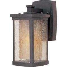 Bungalow EE 1-Light Bronze Wall Sconce Led Outdoor Wall Lights, Outdoor Light Fixtures, Outdoor Wall Lantern, Outdoor Wall Sconce, Outdoor Wall Lighting, Wall Sconce Lighting, Outdoor Walls, Exterior Lighting, Lighting Ideas