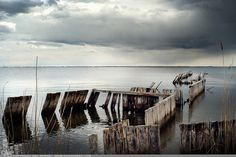 """Picture-A-Day (PAD n.2105) """"Marina Lost"""" ~Amy, DangRabbit Photography Pier on Long Island, NY"""