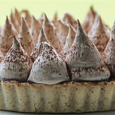Try this Blood Orange and Chocolate Meringue Pie recipe by Chef Maggie Beer.This recipe is from the show The Great Australian Bake Off. Great Australian Bake Off, Great British Bake Off, Bake Off Recipes, Beer Recipes, Kiwi Recipes, Cake Recipes, Sweet Pie, Sweet Tarts, Pavlova