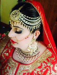 Kashmiri makeup ....