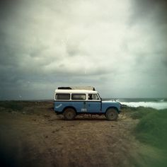 The classic Land Rover Defender - my #1 choice for the perfect adventurous holiday.     (Ours too.)