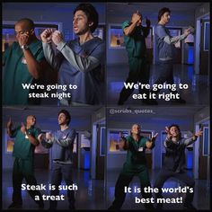 Turk and JD. Scrubs Tv Shows Funny, Best Tv Shows, Best Shows Ever, Turk And Jd, Scrubs Funny, Scrubs Quotes, Scrubs Tv Shows, Anniversary Quotes Funny, Cute Girlfriend Quotes