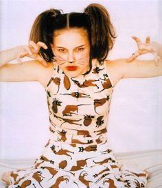 Natalie Portman     by Ellen von Unwerth, 1996