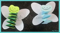 Simple & Cute Paper Folding Craft for Kids