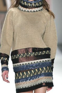 Stampe e patterns dalla New York Fashion Week (collezioni donna autunno/inverno 2013/14) <Custo Barcelona>