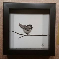 My new favourite #storiesinstone #stones #driftwood #driftwoodart #art #canadianart #ontario #georgianbluffs #decor #beautiful #cottagedecor #quietmoments #birds #wood #chickadee #georgianbay #giftideas #everyonehasastory