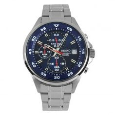 SKS625P1 SKS625 Seiko Male Chronograph Watch Gents Watches, Seiko Watches, Watches For Men, Watch Sale, Casio Watch, Chronograph, Accessories, Ornament