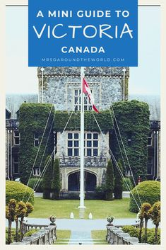 Looks for ideas of things to do in Victoria BC? Here is my one-day guide to Victoria Vancouver Island, Canada. | Mrs O Around the World #Travel #TravelTips #Canada | places to visit in canada | canada vacation spots | best places in canada | best of canada travel | canada travel inspiration | victoria canada things to do in Canada Canada, Canada Travel, Dream Vacations, Vacation Spots, Travel Ideas, Travel Inspiration, Travel Around The World, Around The Worlds, Victoria Vancouver Island