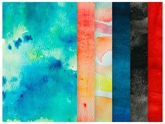 Watercolour Textures Pack