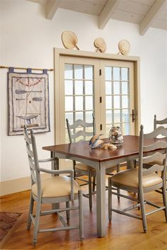 Amish Deluxe Ladder Back Dining Room Chair