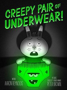 e9d137a7e9 ... the celebrated team behind Creepy Carrots! , Aaron Reynolds and  Caldecott Honor winner Peter Brown, comes a hilarious (and just a little  creepy) story ...