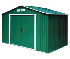 Caseta de acero de 2,61 x 1,80 m TITAN 8x6