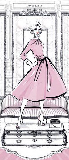 Grace Kelly's fashion