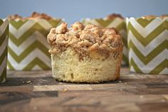 Coffee Cake Muffins | Life is But a Dish