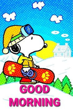 Good Morning Winter, Good Morning Snoopy, Charlie Brown Thanksgiving, Charlie Brown And Snoopy, Snoopy Pictures, Emoji Pictures, Snoopy Quotes, Peanuts Quotes, Fire Truck Craft