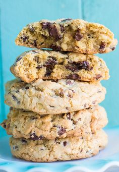 Walnut Loaded Chunky Chocolate Chip Cookies from @kitchenmagpie