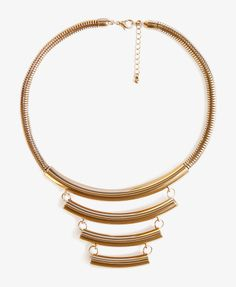 Crescent Snake Chain Necklace | FOREVER21