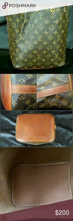 Louis Vuitton Noe Louis Vuitton Monogram Petit Noe PRELOVED Bucket Bag NO STRAP,NO DRAWSTRING REASONABLE OFFERS ONLY Louis Vuitton Bags Shoulder Bags