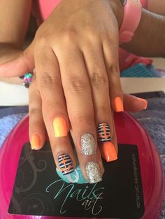 Nails, acrylic nails, summer nails #slimmingbodyshapers How to accessorize your look Go to slimmingbodyshapers.com for plus size shapewear and bras