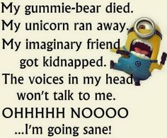 Hilarious Memes Funny Minion Happy New Year Quotes Funny Minion Pictures, Funny Minion Memes, Minions Quotes, Funny Jokes, Minion Humor, Minion Sayings, Minions Images, Heros Comics, Minions Love