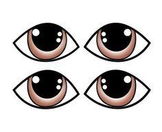 carimbo olhos artesanato - Pesquisa Google Preschool Projects, Craft Projects, 4x4 Crafts, Old Testament Bible, Eye Stickers, Irish Eyes, Doll Eyes, Face Design, Sewing Toys