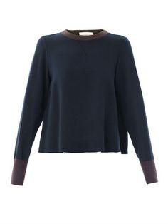 Derek Lam Bonded lace sweatshirt (160352)
