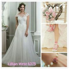 Lillian West Bridal style 6375
