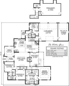 Madden Home Design - The Willow Grove