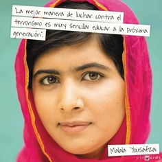 Malala Yousafzai on education