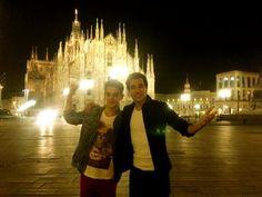 Jorge y Ruggero en Milan!
