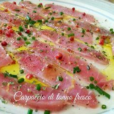 Tzatziki, Sashimi, Chutney, Pesto, Carpaccio, Good Food, Yummy Food, Dinner Party Recipes, Gastronomia