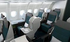 Review of Aer Lingus' new business class product with gluten-free meals from JFK-GVA-JFK.