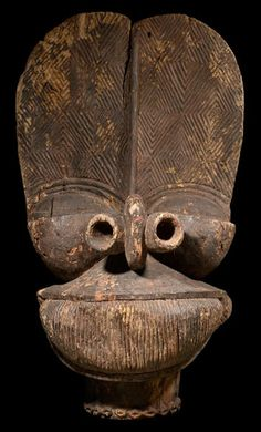 African Batcham Mask, Cameroon. This and more important tribal art for sale on CuratorsEye.com