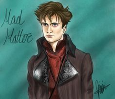 Mad Hatter OUAT drawing