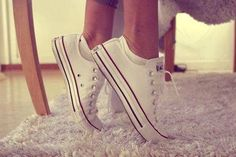Converse Basse Blanche Femme Swag