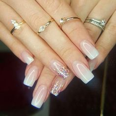Acrylic Nail Designs for Weddings Beautiful Flawless Acrylic Nails by Tammy Taylor Nails south Africa Gorgeous Nails, Love Nails, Pretty Nails, Fun Nails, Acrylic Nail Designs, Nail Art Designs, Nails Design, Tammy Taylor Nails, Nagellack Trends