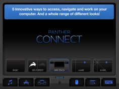 Panther Connect, $24.99, turns iPad into trackpad to control computer.