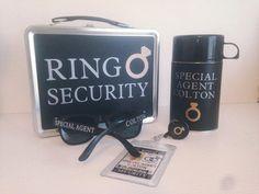 So cute! Ring Security Box Ring Bearer Alternative  by CastleHallCreative