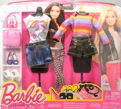 Barbie Dress, Barbie Clothes, Barbie Doll, Barbie Outfits, Dolls, Boho Look, Hippie Boho, Packing, Denim