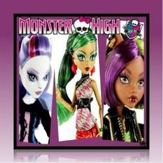 Monster High New Scaremester Dolls for Christmas or Birthday Gifts