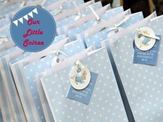 peter rabbit theme thank you goody bags