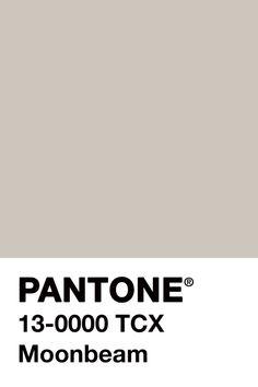 Pantone ~ Moonbeam