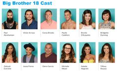 Meet the New Big Brother Cast at… Big Brother Cast, Big Brother Show, Big Brother Canada, Cbs Tv Shows, Chicago Cubs Fans, One More Day, Amazing Race, Carrie Underwood, Latest Pics