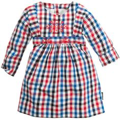 love, love, love this dress - festive check dress from Polarn O. Pyret