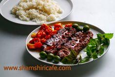 Welcome to Shamshiri cafe: کباب تابه ای - اِ - لَ - کافه شمشیری