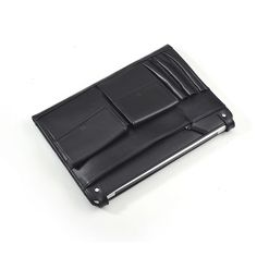 Black Leather MacBook Clutch Carrying Case With iPad and iPhone Pocket | iCarryalls Leather Fashion