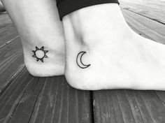 tattoo - 3 | sun - hers, moon - Marzia's